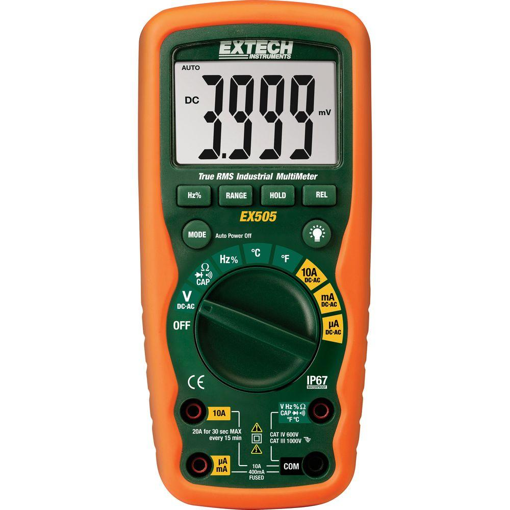 Heavy Duty Waterproof True RMS Multimeter